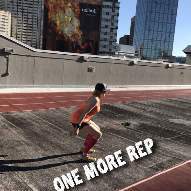 leg day leg exercise workout bodyweight one more rep squats runner