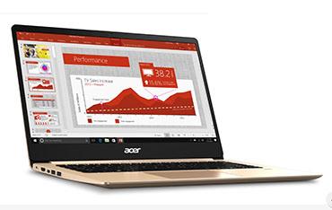 laptop acer, acer swift, SF114-32-P8TS, laptop acer giá rẻ, NX.GXQSV.001