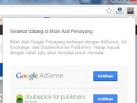 Cara memblokir iklan Google AdSense yang bayarannya Rendah