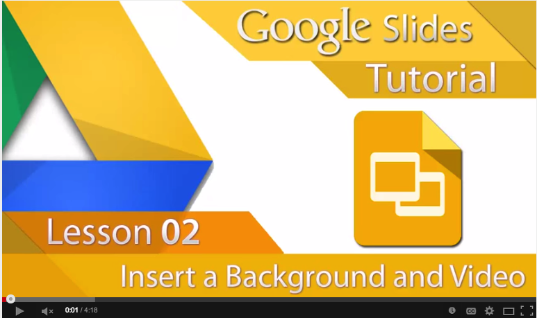 how to add video on google slides