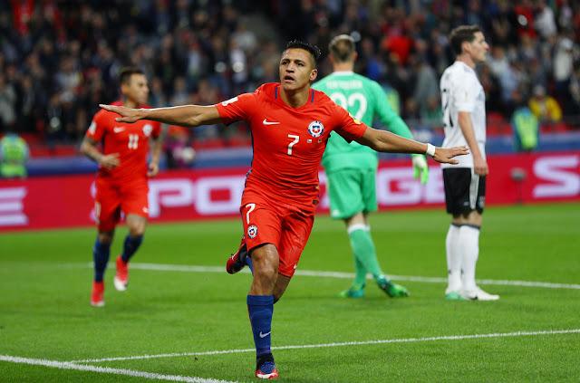 Alemania y Chile en Copa Confederaciones 2017, 22 de junio