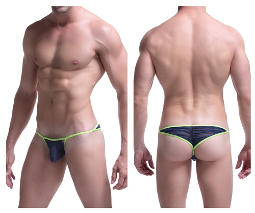 Petit-Q Wave Thong Tバック
