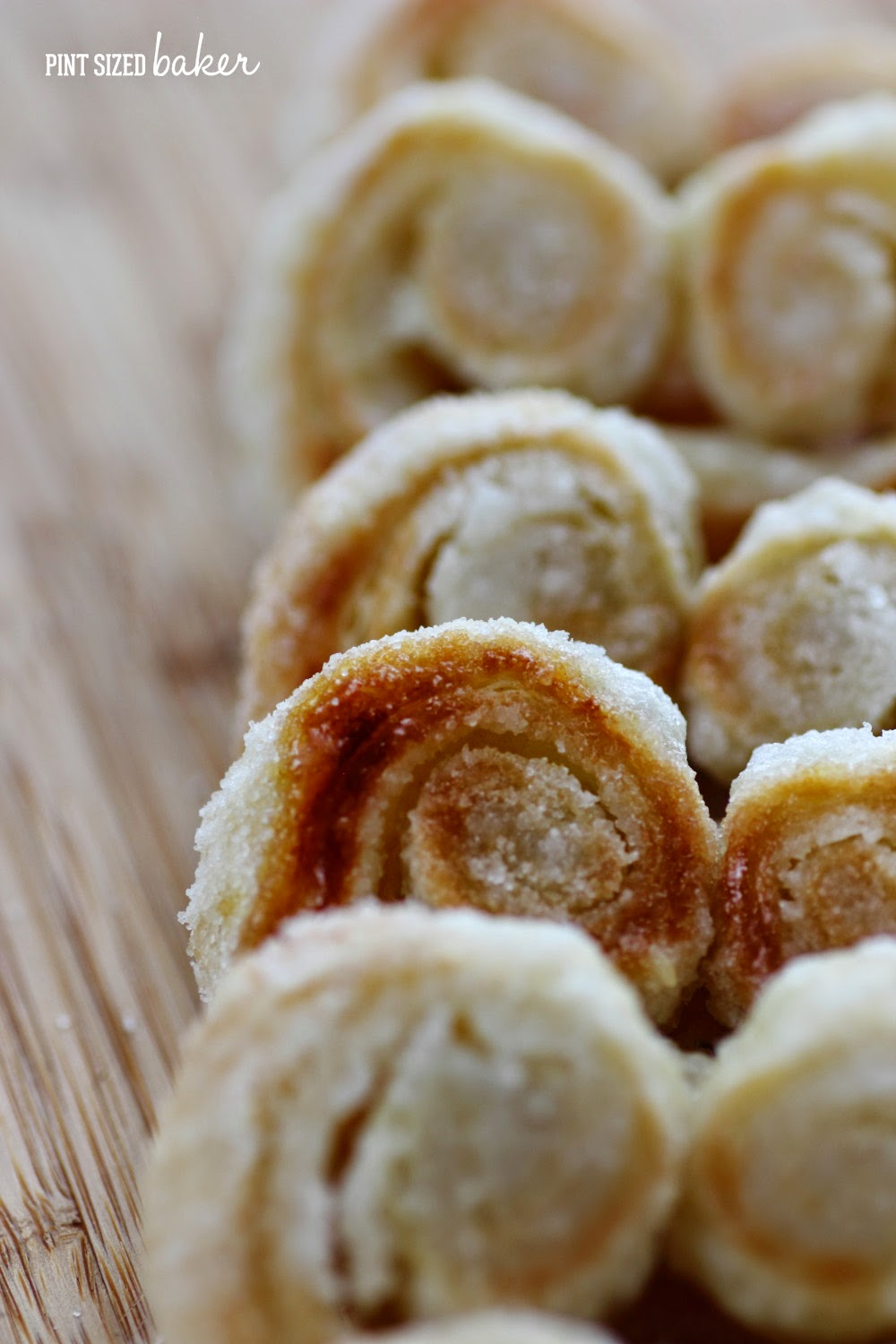 I love the sugar and swirls on these Palmier Cookies. It's so pretty!
