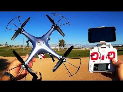 Spesifikasi Drone Syma X5HC - GudangDrone
