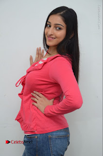 Telugu Actress Mouryani Latest Pos in Blue Denim Jeans  0035.JPG