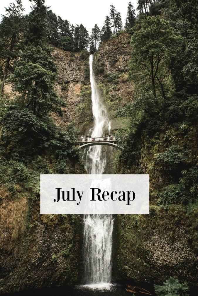 JULY, THE MONTH THAT GOT AWAY FROM ME