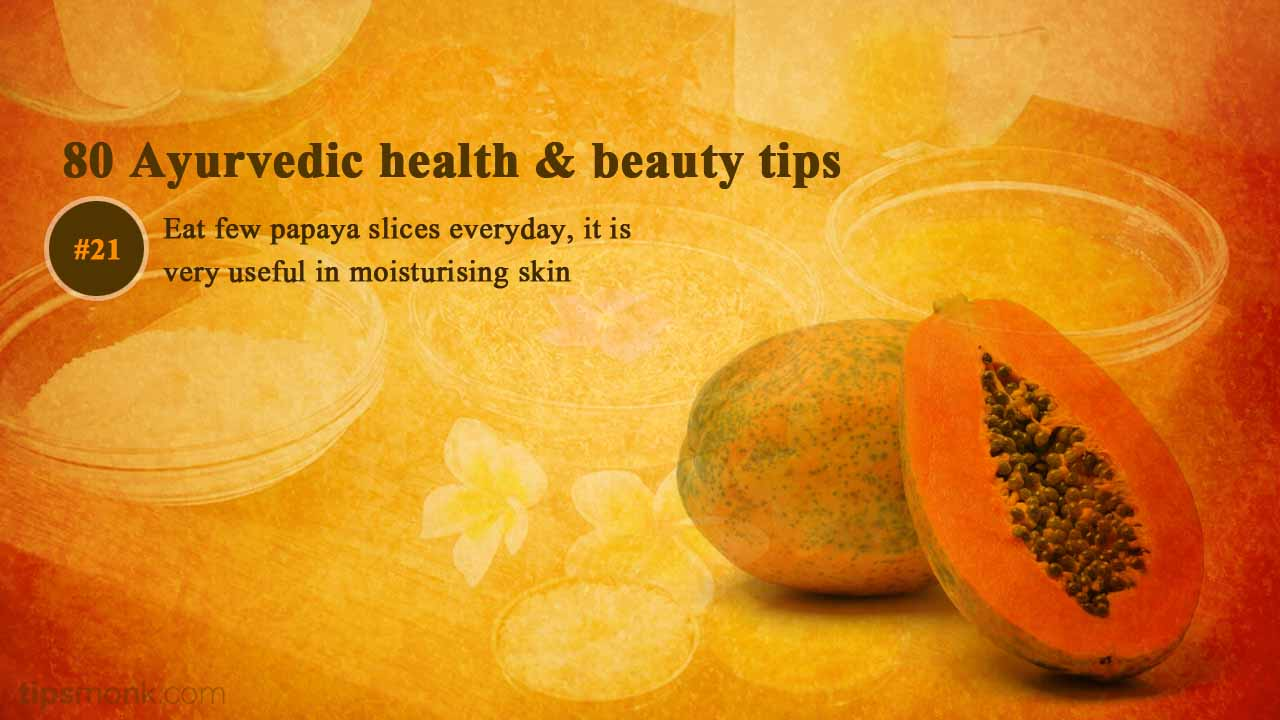 Ayurvedic beauty tips for dry skin from Ayurveda books - Tipsmonk