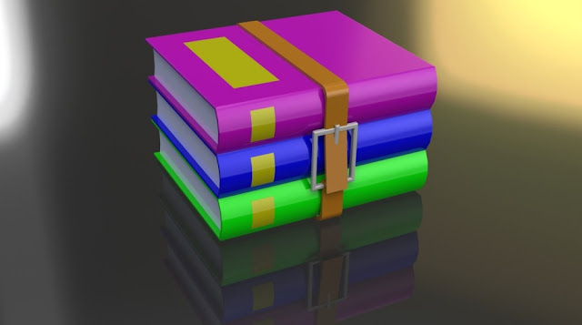 winrar password protected file