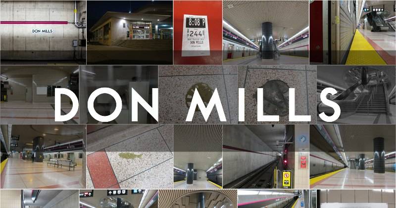 Don Mills station photo gallery