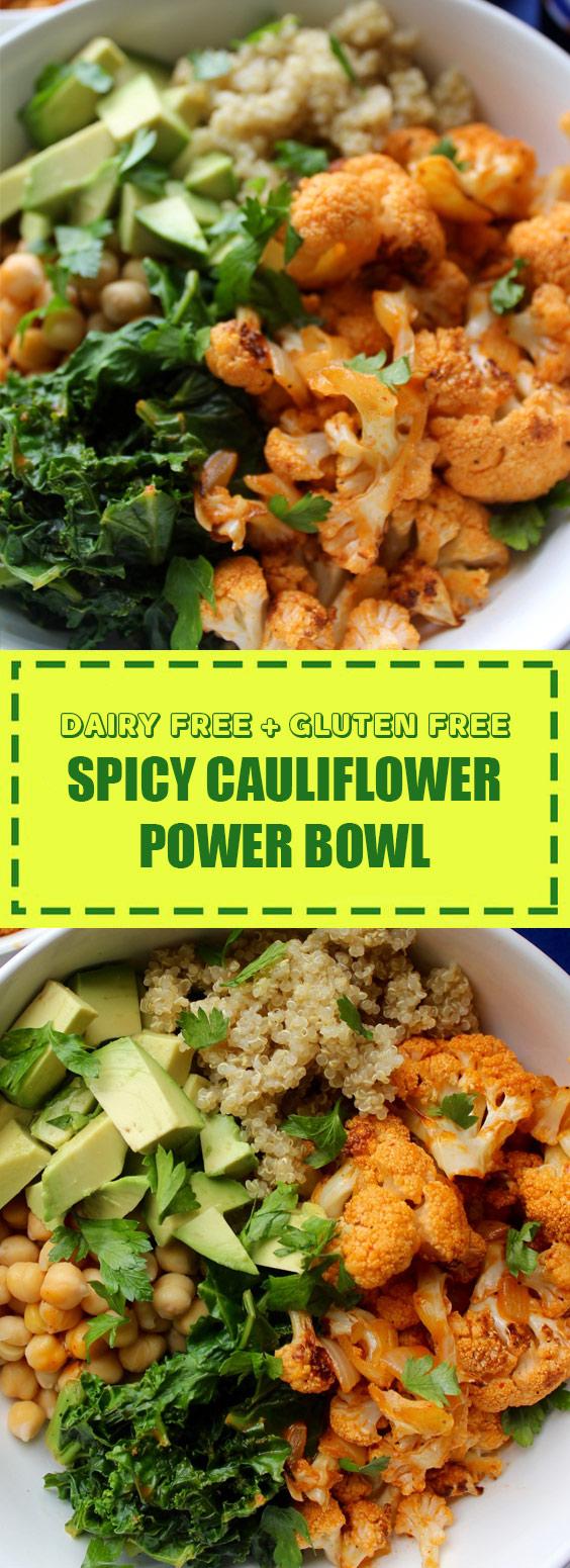 Spicy Cauliflower Power Bowl