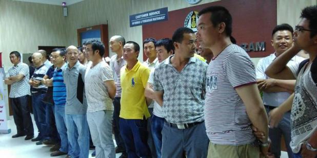 Imigrasi Tangkap Ratusan WN Tiongkok Tanpa Paspor