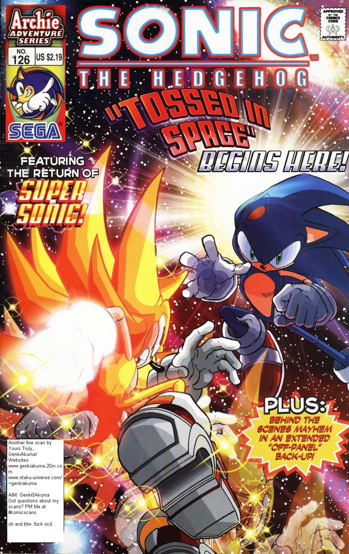 Sonic The Hedgehog (1993) #126 - Read Sonic The Hedgehog
