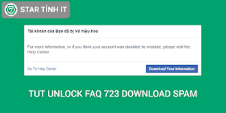 Tut unlock faq 723 download cân spam mới nhất 2019