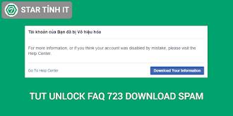Tut unlock faq 723 download cân spam mới nhất 2019