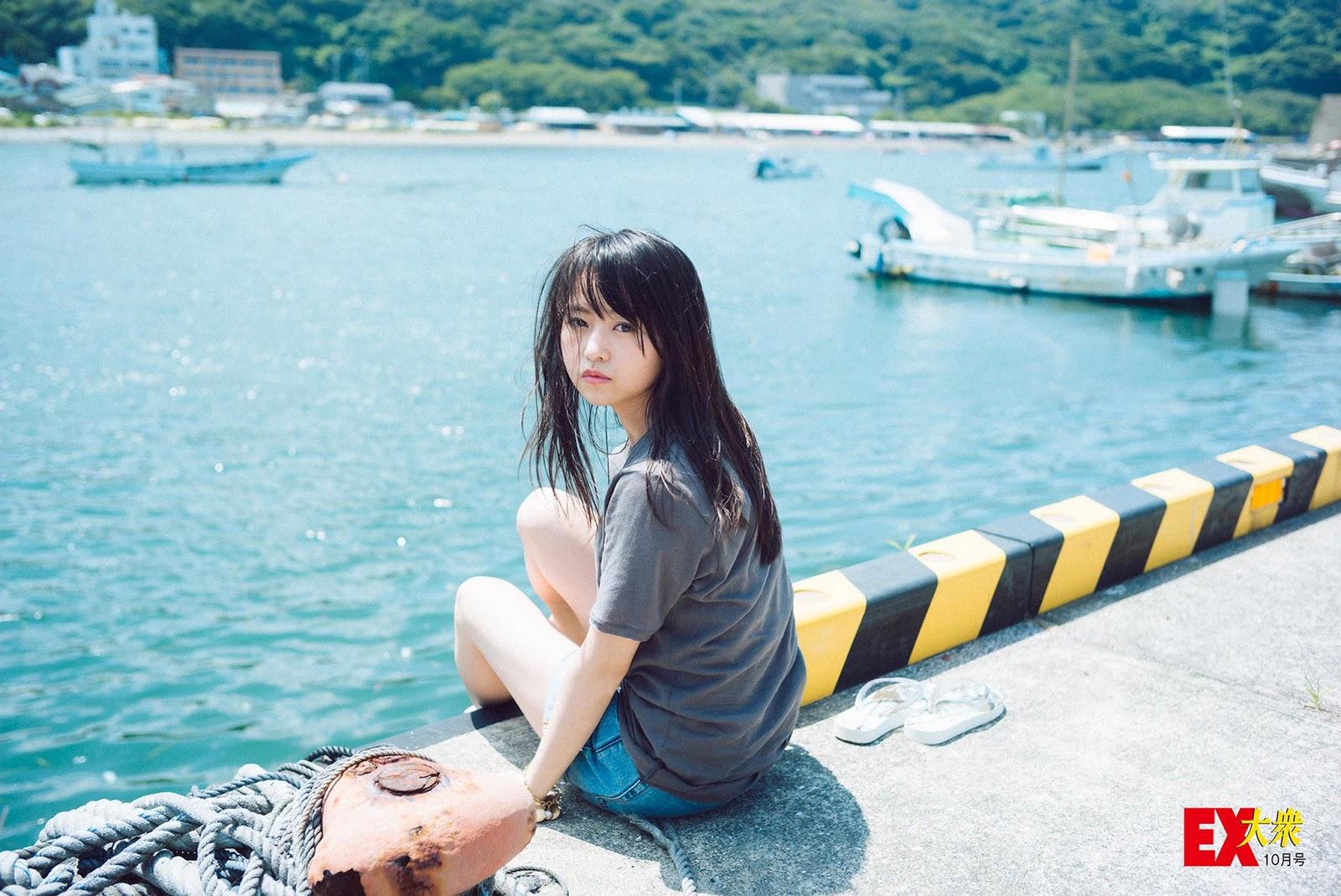 Ito Marika 伊藤万理華 Nogizaka46, EX-Taishu 2016.10.10 (EX大衆 10月号)