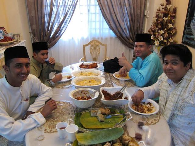 Eid Ul Fitr Distributing Sweets