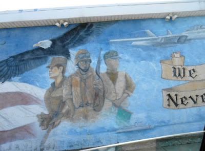 We Will Never Forget Wall Mural in North Wildwood New Jersey