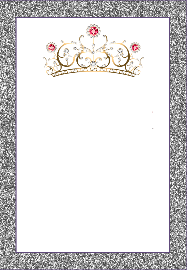 Crowns Free Printable Frames Invitations Or Cards Oh