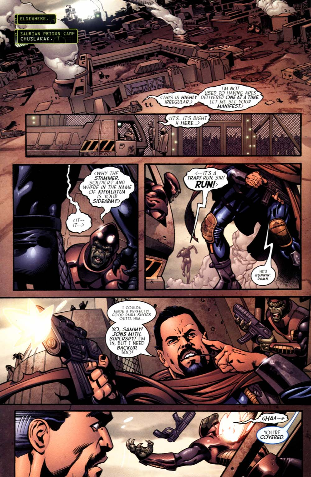 Read online Sigil (2000) comic -  Issue #19 - 12