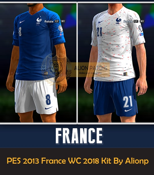 PES 2013 France WC 2018 Kit