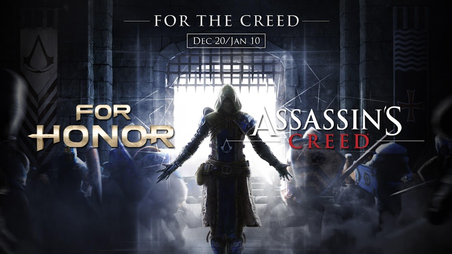 for honor assassins creed crossover event ubisoft