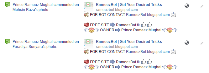 New Bot Scripts 2016 By RameezBot | eFreeBot | Facebook Bot