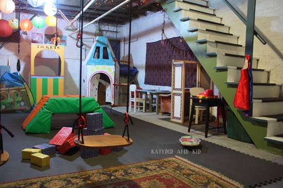 cheap garage makeover ideas - Katydid and Kid Winter Boredom Buster Unfinished
