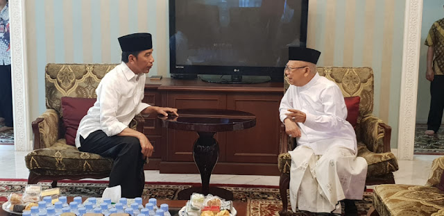 Rekam Jejak Jokowi, Ma'ruf Amin: Enggak Pernah Menganiaya Orang