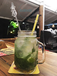 mojito au bar de l'Hidden Garden à Rivière Noire