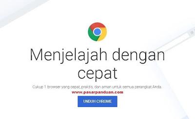 perangkat lunak untuk mengakses internet (google chrome)
