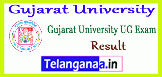 Gujarat University UG Semester 1st 2nd 3rd 4th 5th 6th Result