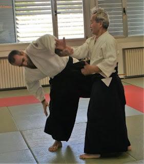 Aikido Yasunari Kitaura Shihan
