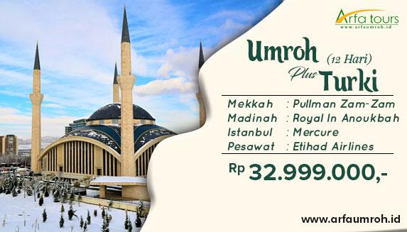 Umroh Plus Istanbul 2019 Arfa Tour