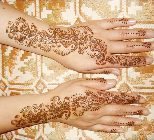 MEHANDI DESIGNS - SIMPLE AND BEAUTIFUL MEHANDI  DESIGNS- FOR OCCASIONS