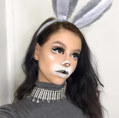 21 Latest Classic Bunny Makeup For Halloween Ideas