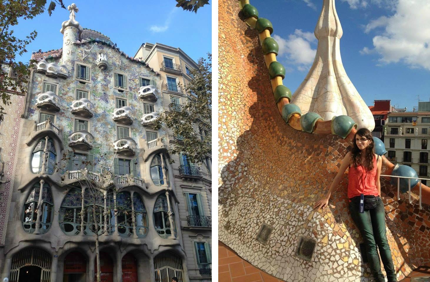 Casa Batlo Barcelone