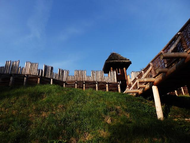 Archeopark; gród Słowian
