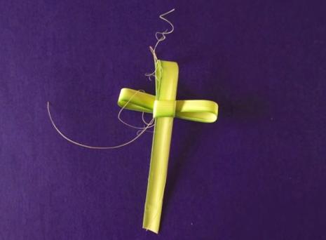 Cách xếp/đan Lá đẹp để chuẩn bị cho Lễ Lá