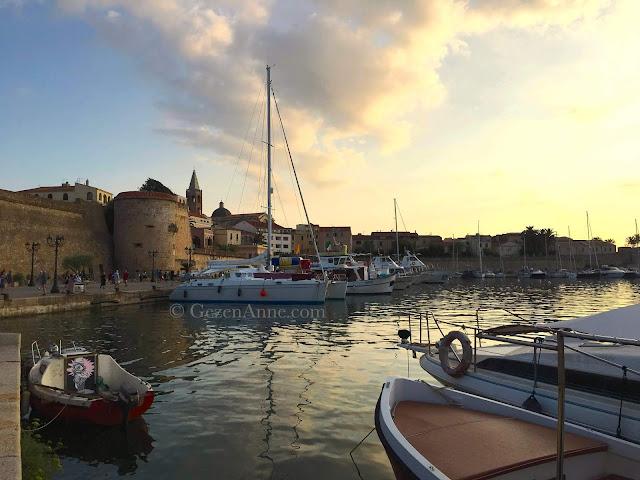 Alghero old town, Sardinia Italy
