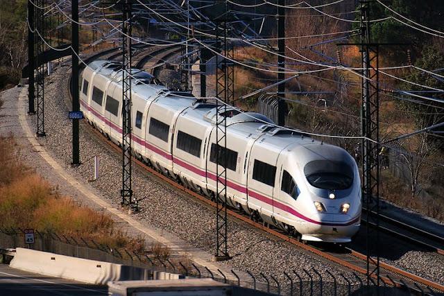 Trem de Madri a Valência