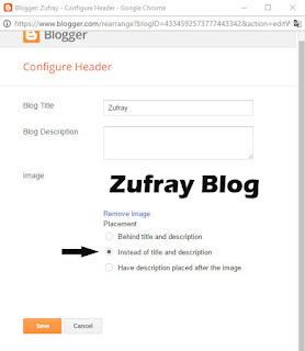 Cara Mengganti Judul Blog dengan Gambar/Logo Step 3