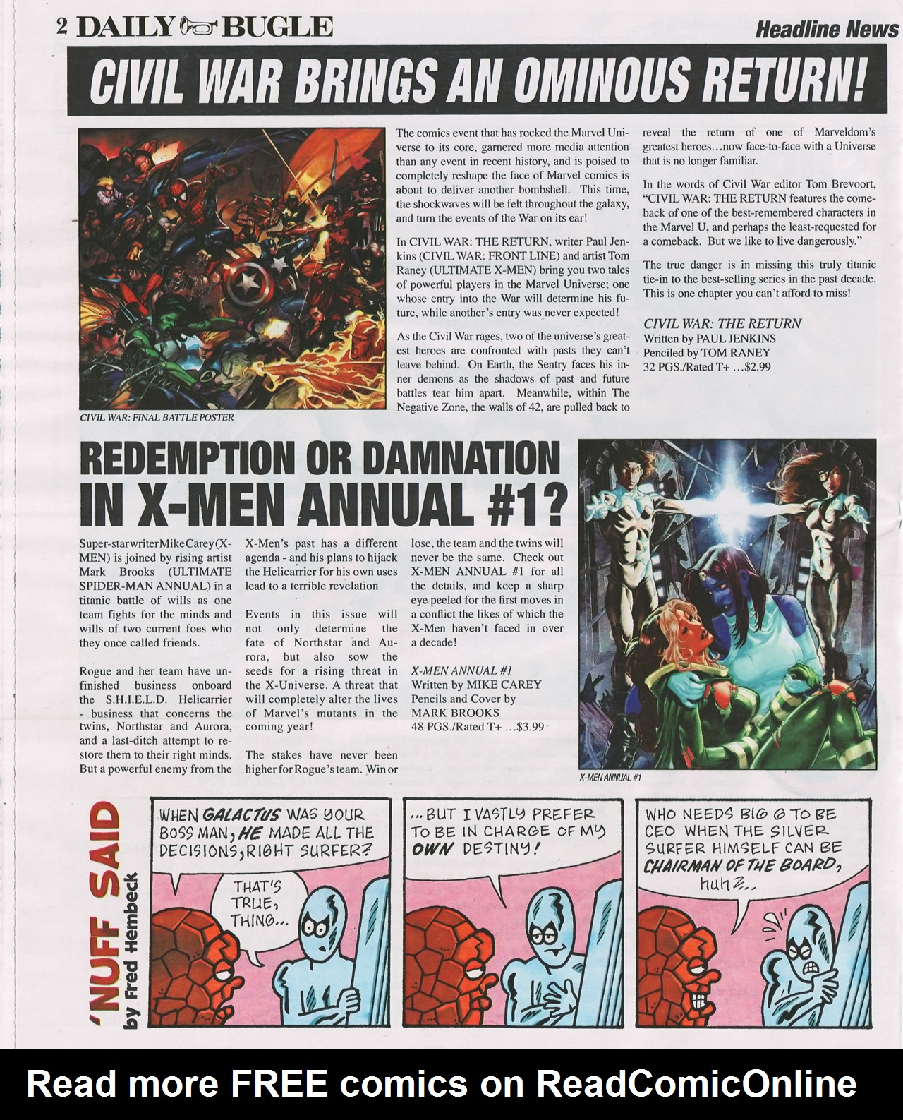 Read online Daily Bugle (2006) comic -  Issue #4 - 3