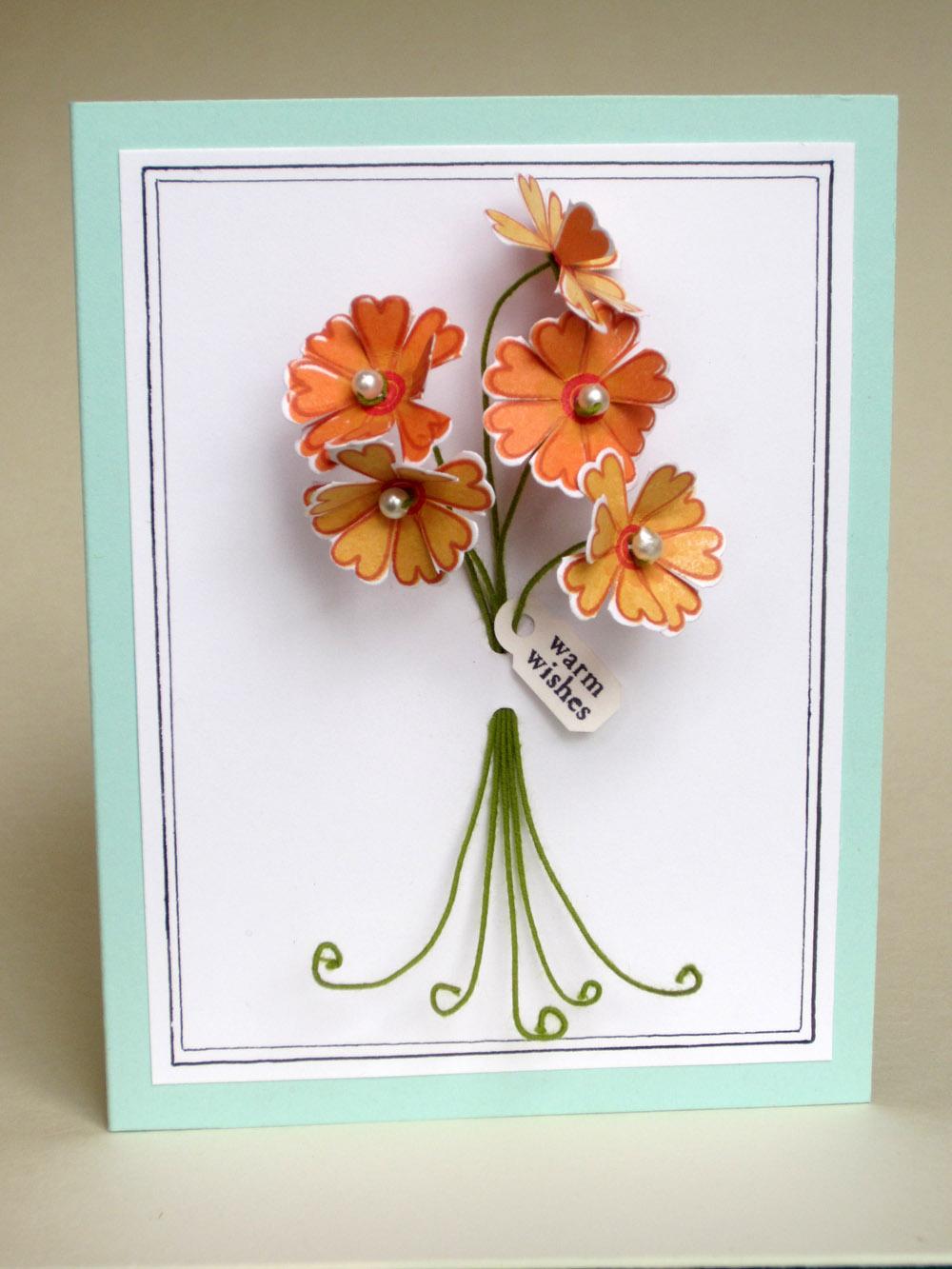 notable nest 3d floral bouquet card mim 52