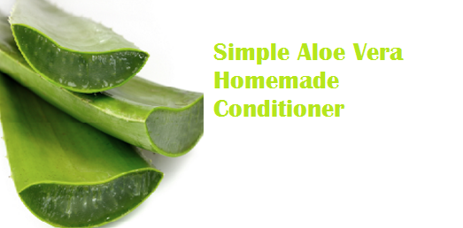 Simple Aloe Vera Homemade Conditioner