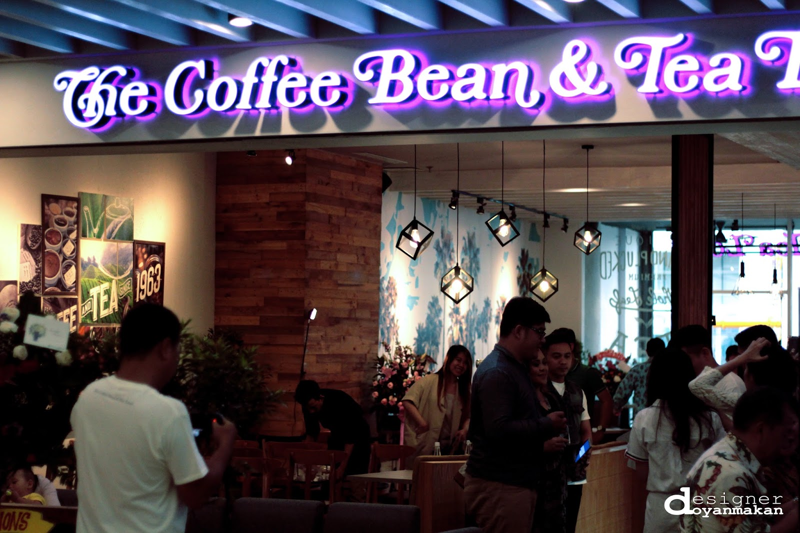 Coffeeholic Openrice Designer Doyan Makan Reopening The Coffee Bean Tea Leaf