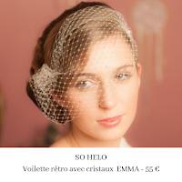 voilette rétro avec cristaux emma de so helo blog mariage unjourmonprinceviendra26.com