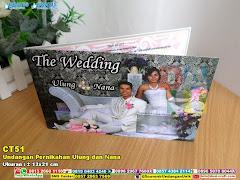 Undangan Pernikahan Ulung Dan Nana