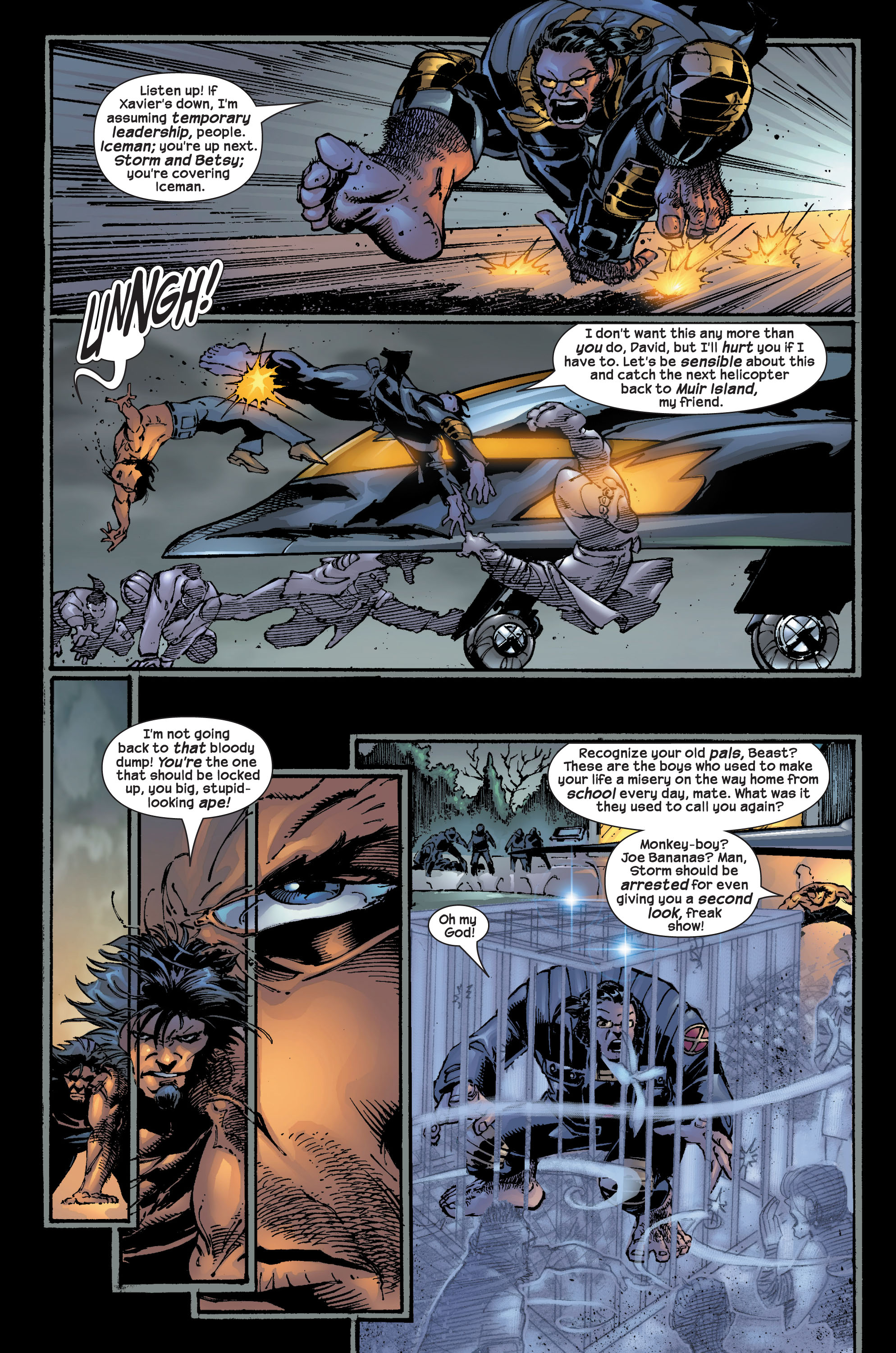 Read online Ultimate X-Men comic -  Issue #17 - 14