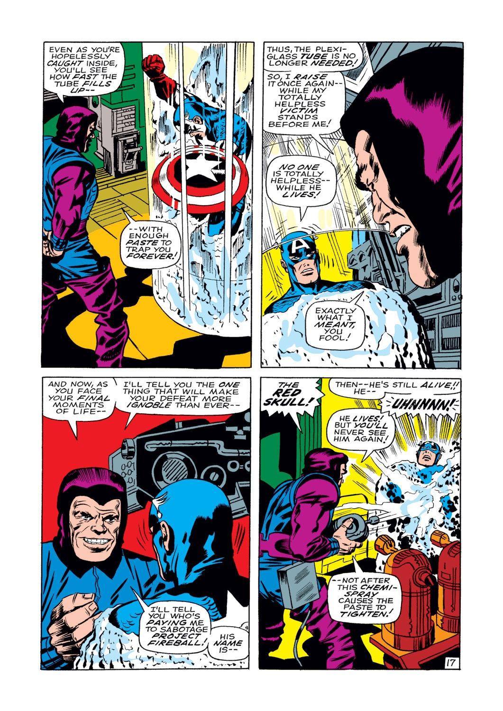 Read online Captain America (1968) comic -  Issue #108 - 18
