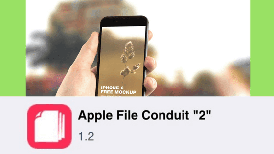 Apple File Conduit 2: How To Download And install On iOS [Cydia Tweak]